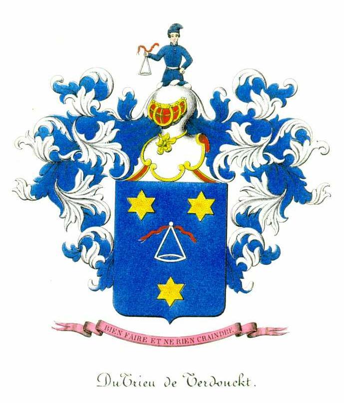 DuTrieux Coats of Arms #3, #4, #5.