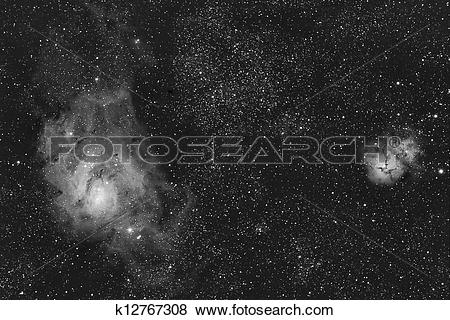 Pictures of lagoon and trifid k12767308.