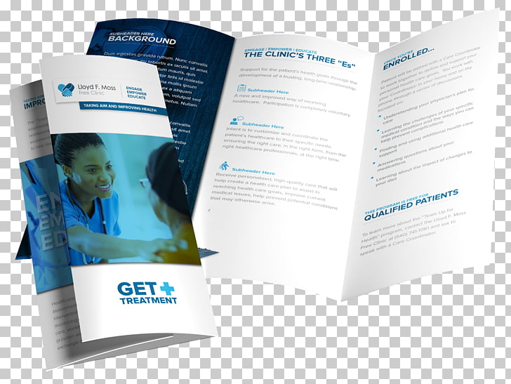 Advertising Brand, Trifold Brochures PNG clipart.