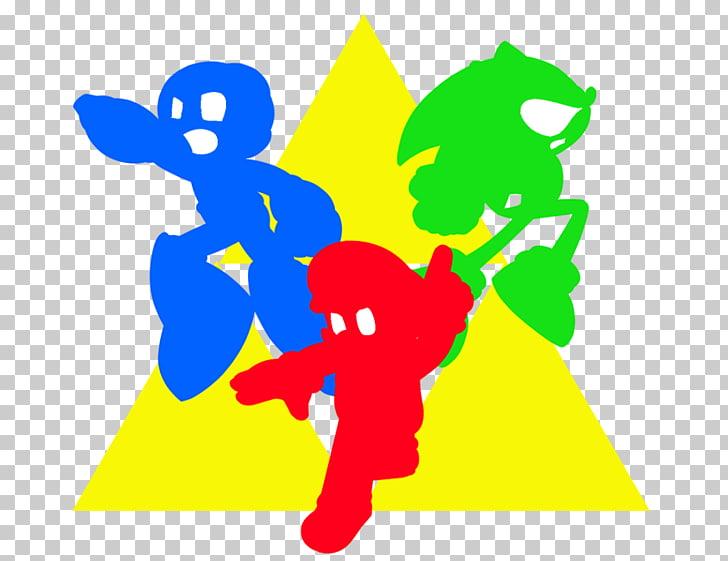 La leyenda de Zelda: Trifuerza de héroes de tres fuerzas.