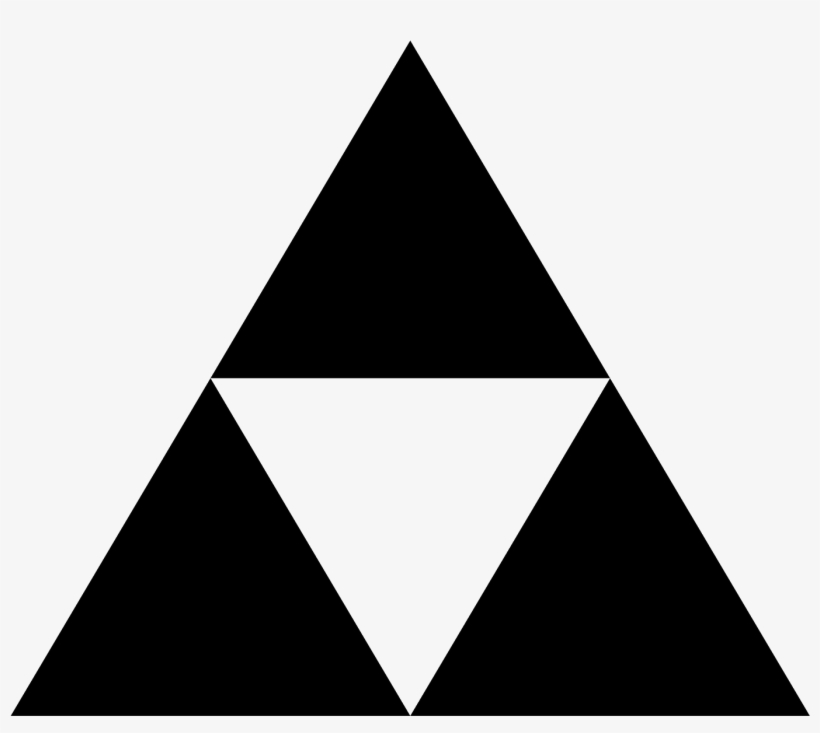 The Icon Is A Depiction Of The Triforce, A Game Element.