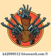 Trigger finger Clipart Vector Graphics. 45 trigger finger EPS clip.