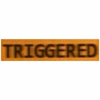 HD Triggered Sticker A Wierd Human Being Triggered.