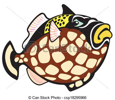 Triggerfish Clip Art and Stock Illustrations. 44 Triggerfish EPS.