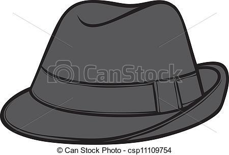Clipart fedora hat.