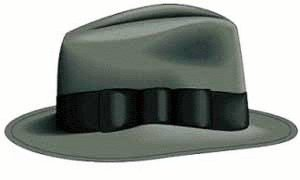 Free Trilby Clipart.