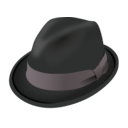 Hat Trilby Clipart.