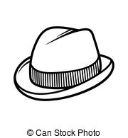 Trilby Clip Art and Stock Illustrations. 376 Trilby EPS.