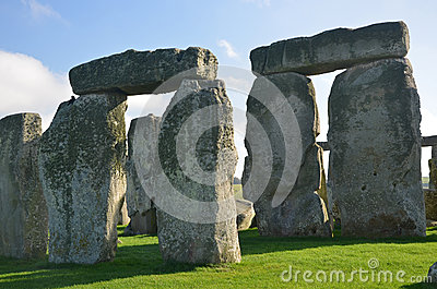 Stonehenge Trilithon Stock Photo.
