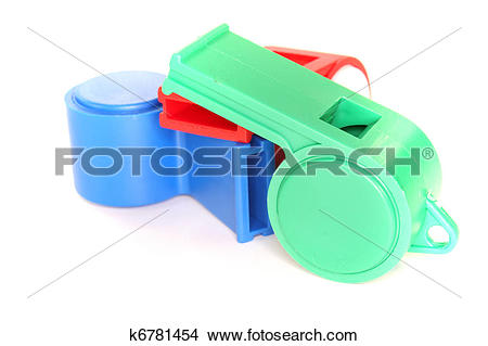 Stock Photo of Trill whistles k6781454.