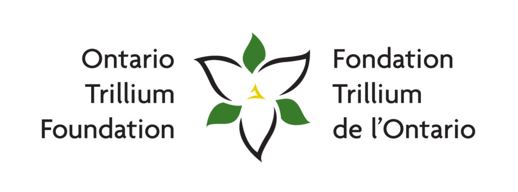 Thank you, Ontario Trillium Fund!.