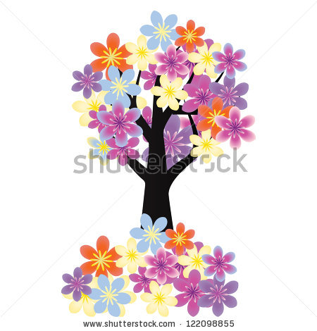 "purple Flower Tree"" Stock Photos, Royalty."