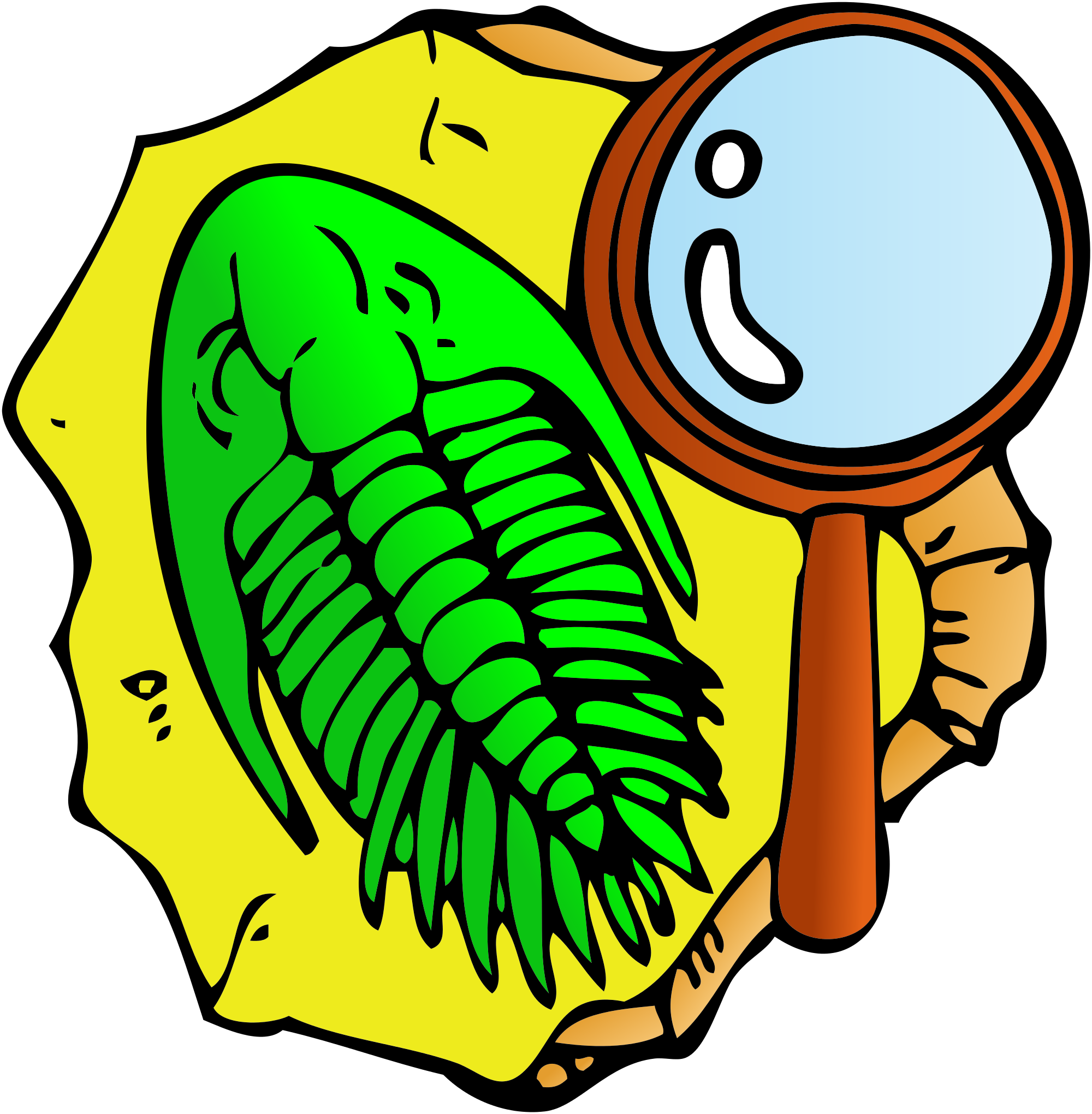 File:Trilobite clipart.