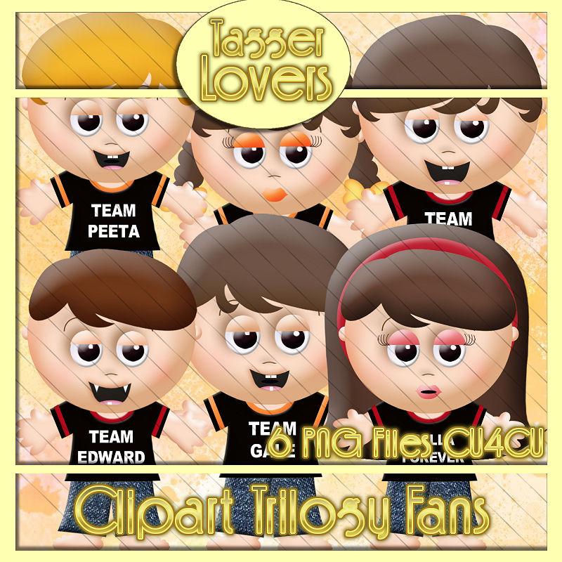 Clipart Trilogy Fans.