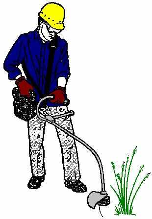 Weed Whacker Clipart.