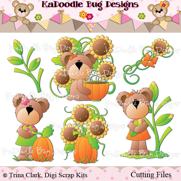 RETIRING Trina Clark CF* : Welcome to Kadoodle Bug Designs.