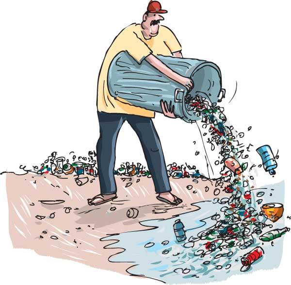 Ari Lankans lack waste disposal knowledge.