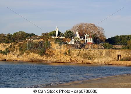 Stock Photography of Fort in Trincomalee.