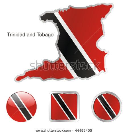 Trinidad And Tobago Map Stock Photos, Royalty.