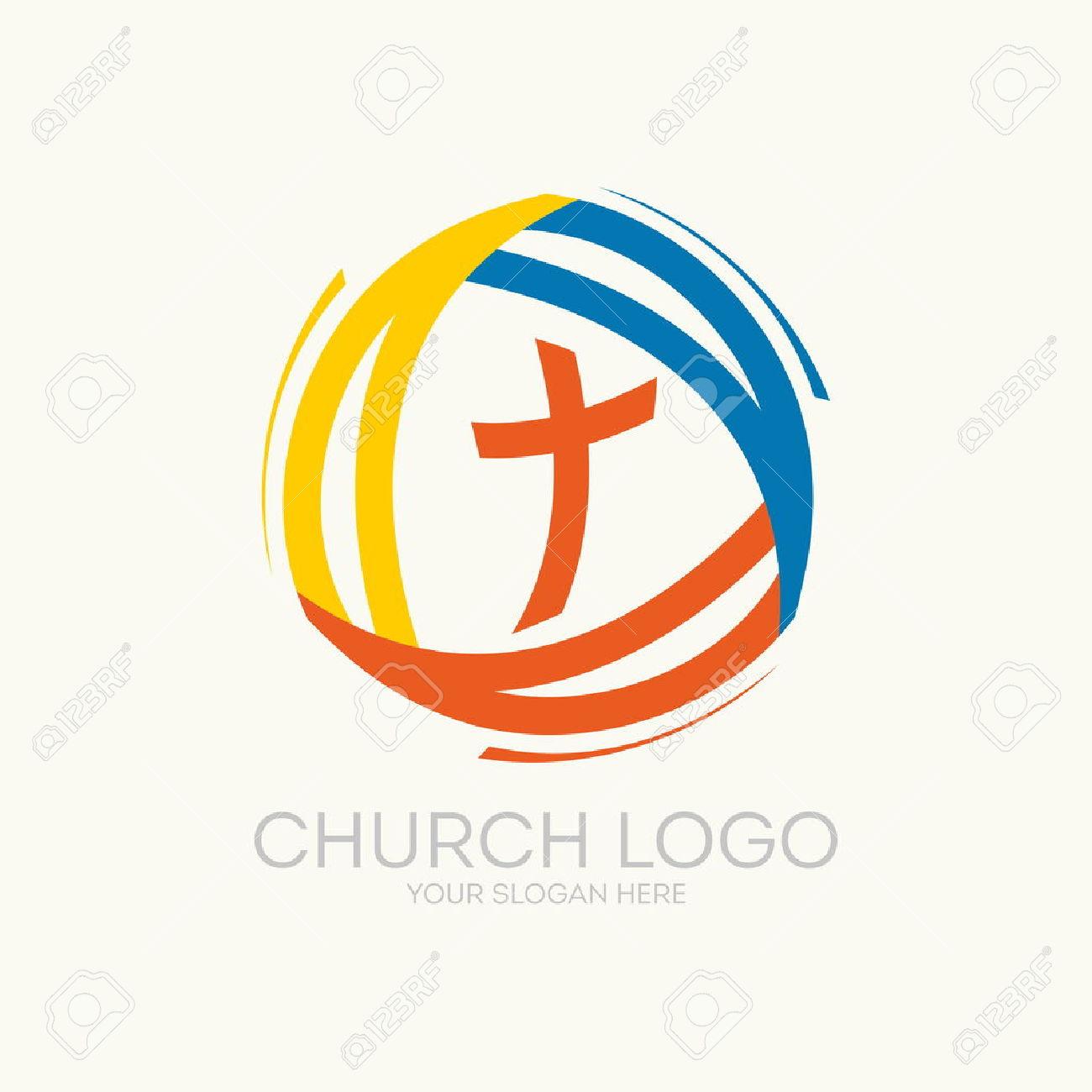 Logo Della Chiesa. Trinità Clipart Royalty.