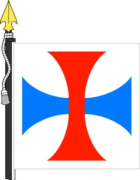 Dibujo HERÁLDICO: Cruz Trinitaria.