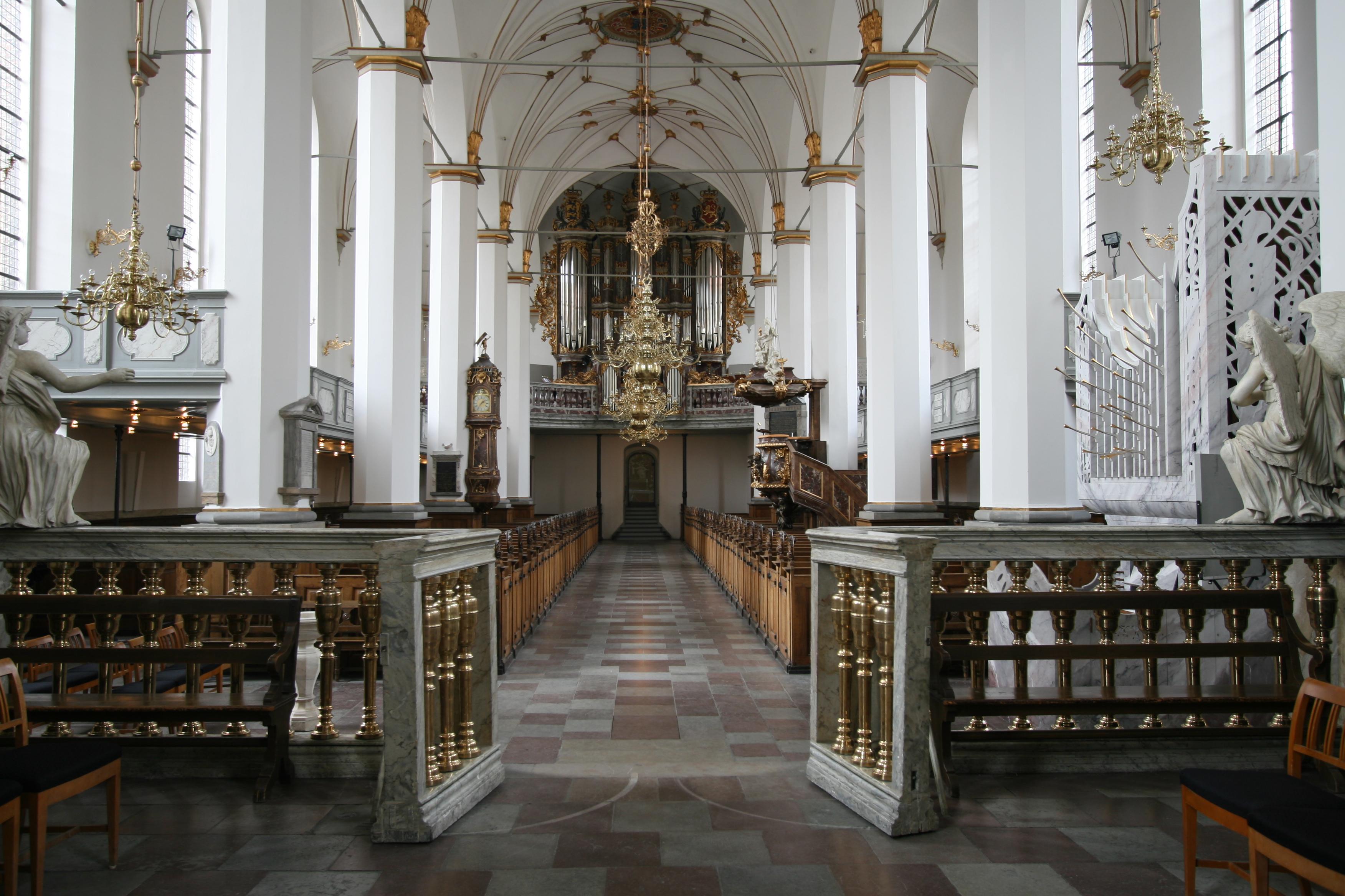 File:Trinitatis Kirke Copenhagen interior from altar.jpg.