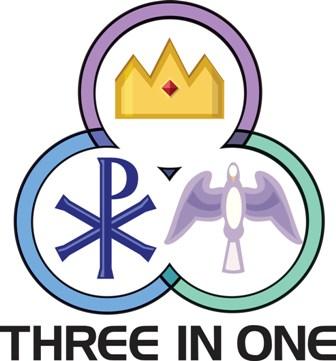 Most holy trinity clip art.