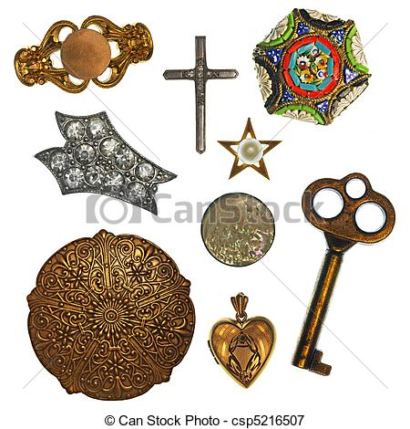 Picture of Antique Trinkets.