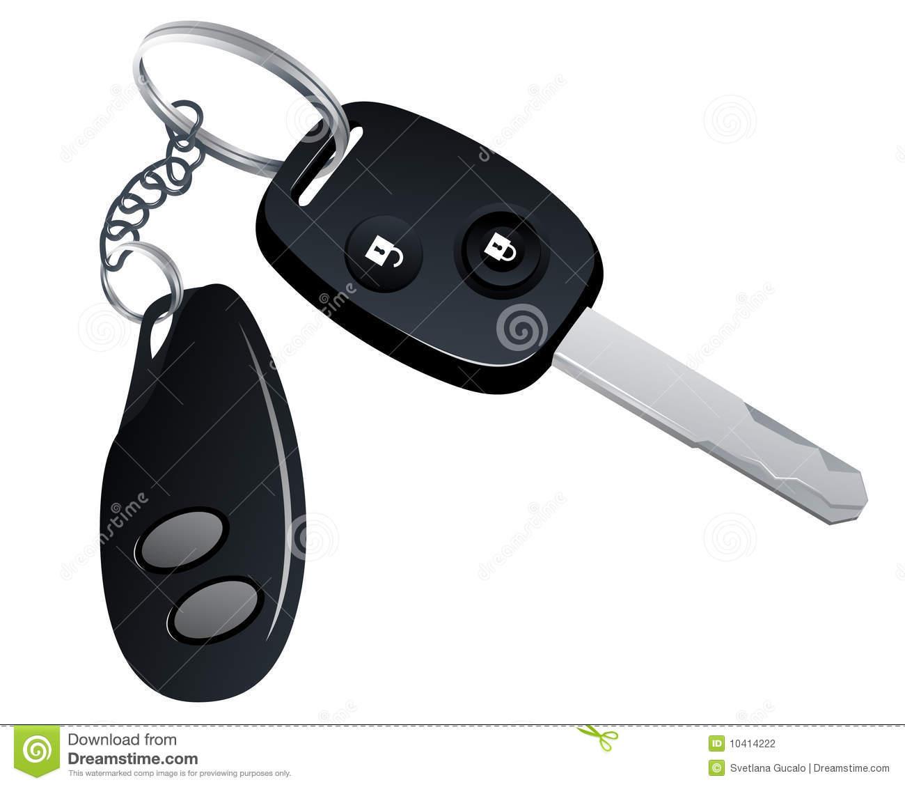 Car Key Clipart Car Key With Trinket #oY93sM.