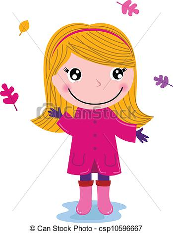Small Girl Clipart.