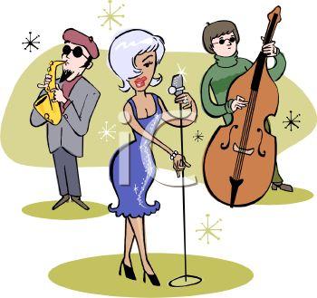 Retro Jazz Trio.