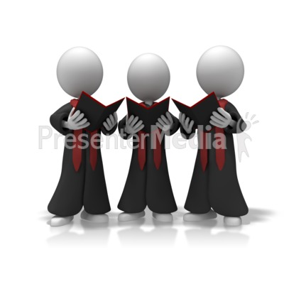Choir Trio Sing.