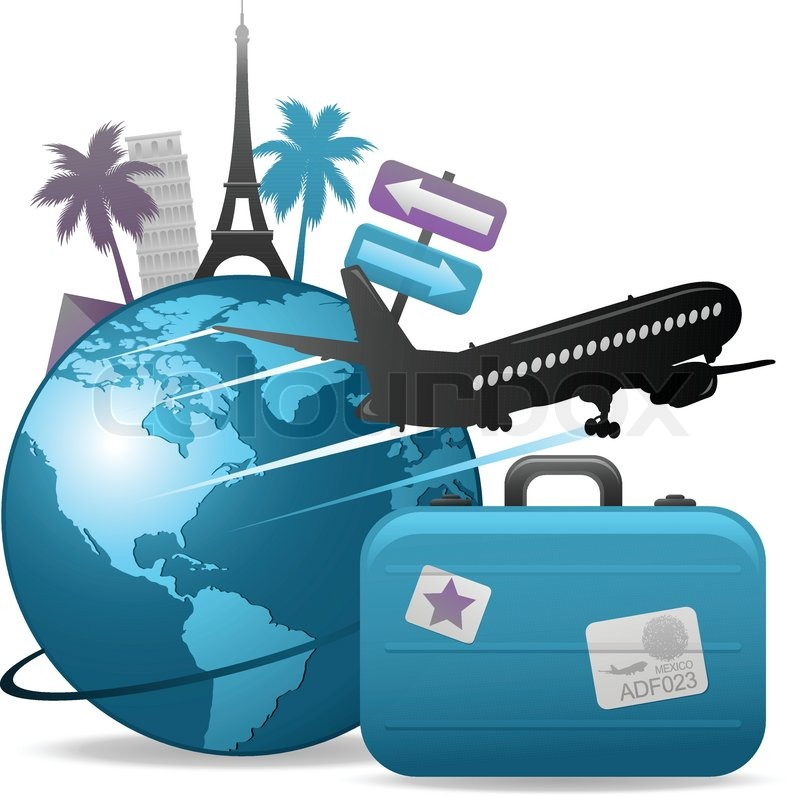 Going Abroad Clipart.