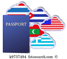 Trip abroad Clip Art Vector Graphics. 412 trip abroad EPS clipart.