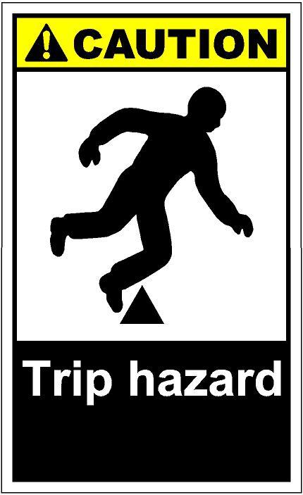 Trip Hazard Clipart#2049700.
