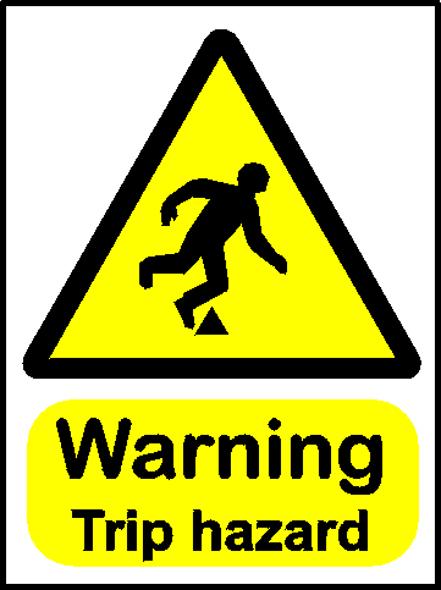 Tripping Hazards Logo.