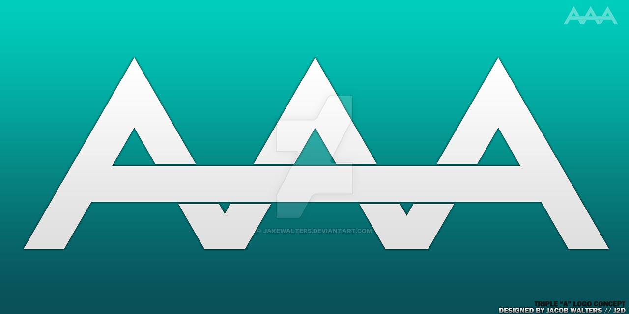 Triple A Logo Concept by JakeWalters on DeviantArt.