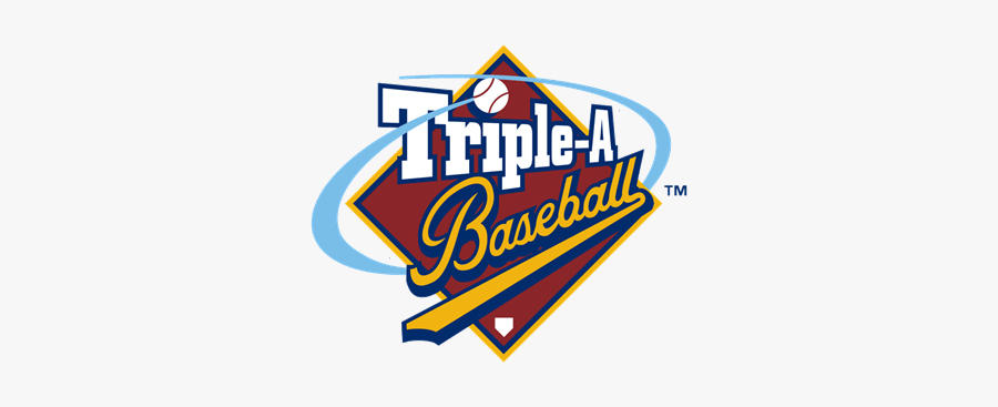 Triple A Baseball Logo , Free Transparent Clipart.