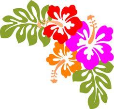 Triple Hibiscus Flower.