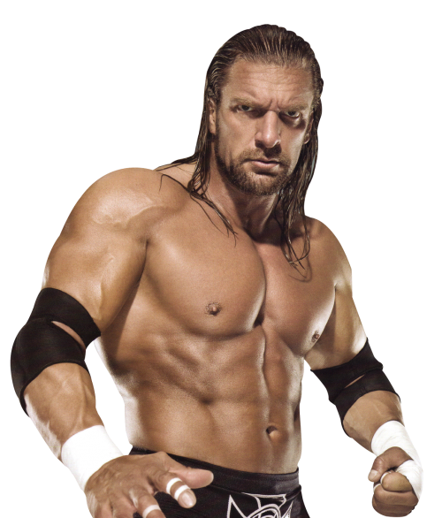 Triple H PNG Transparent Image.