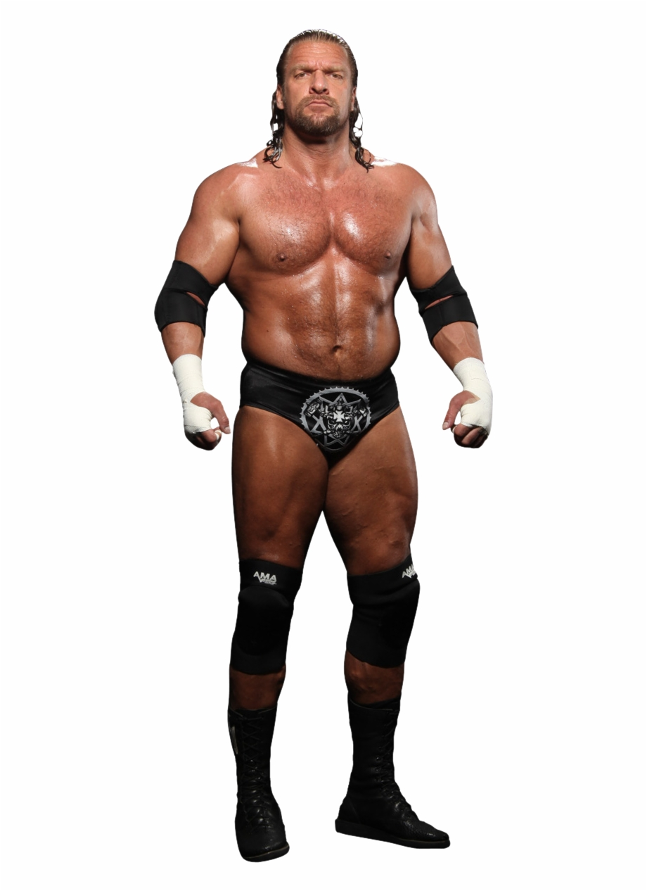 Triple H Wallpaper Possibly Containing A Six Pack,.