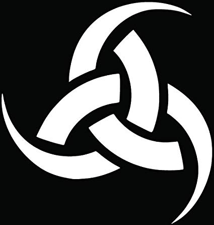 Amazon.com: Odin Triple Horn Pagan Symbol Car Truck Window.