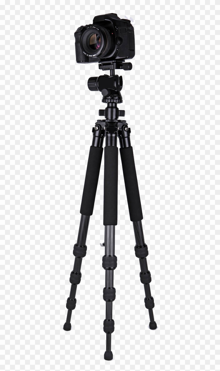 Video Camera Tripod Png Image.