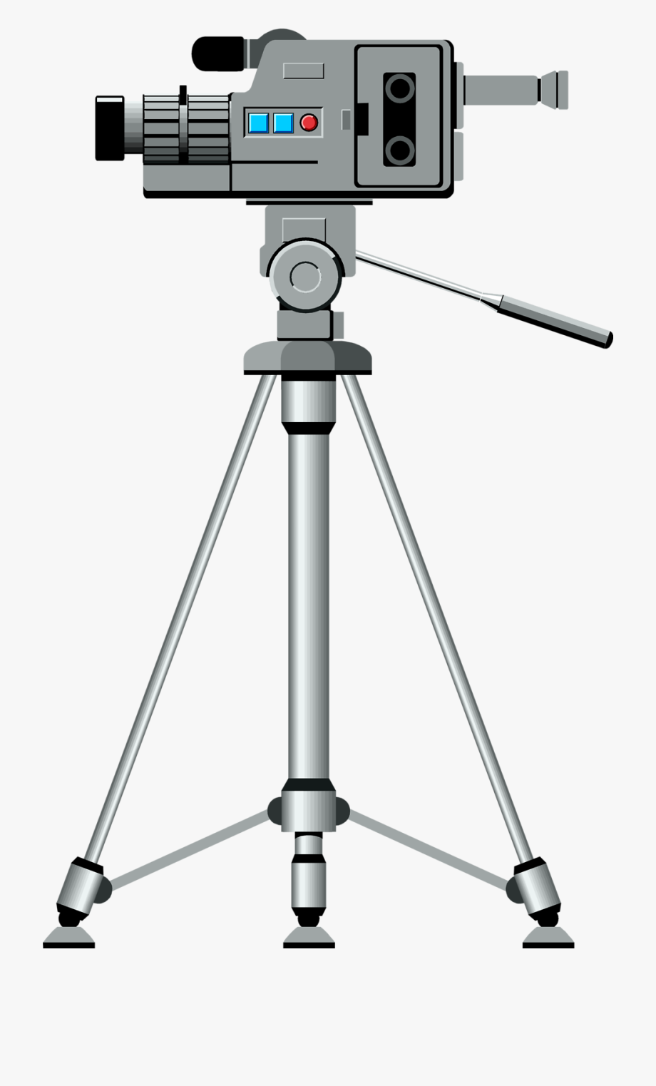 Free Download Of Video Camera On Tripod Icon Clipart.