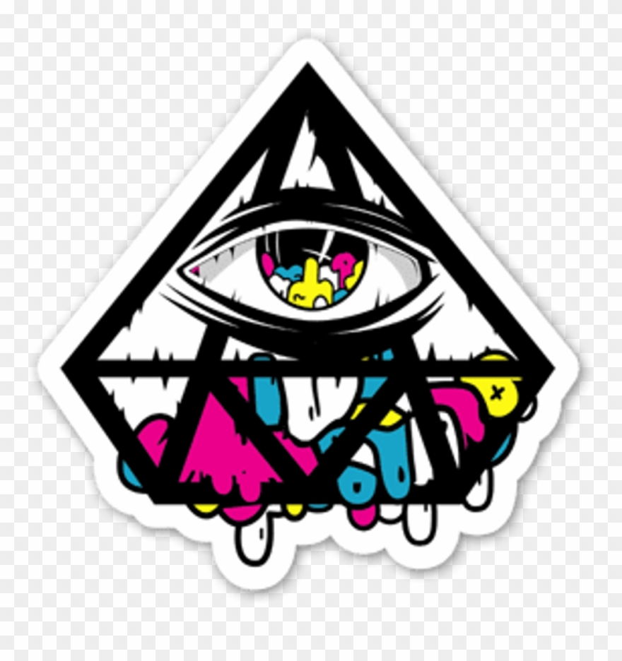 Triangle Clipart Trippy.