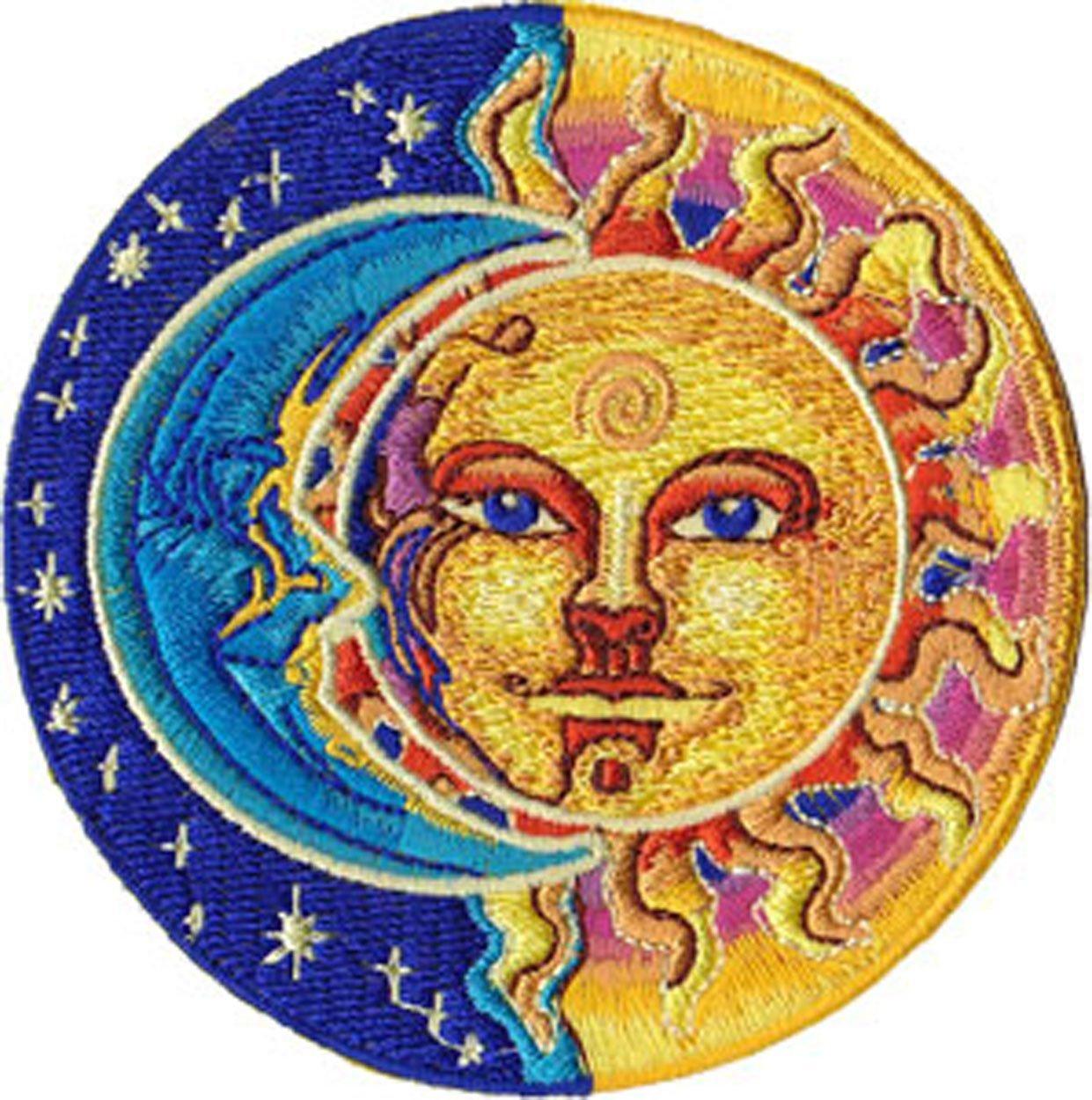 Sun Moon Clipart