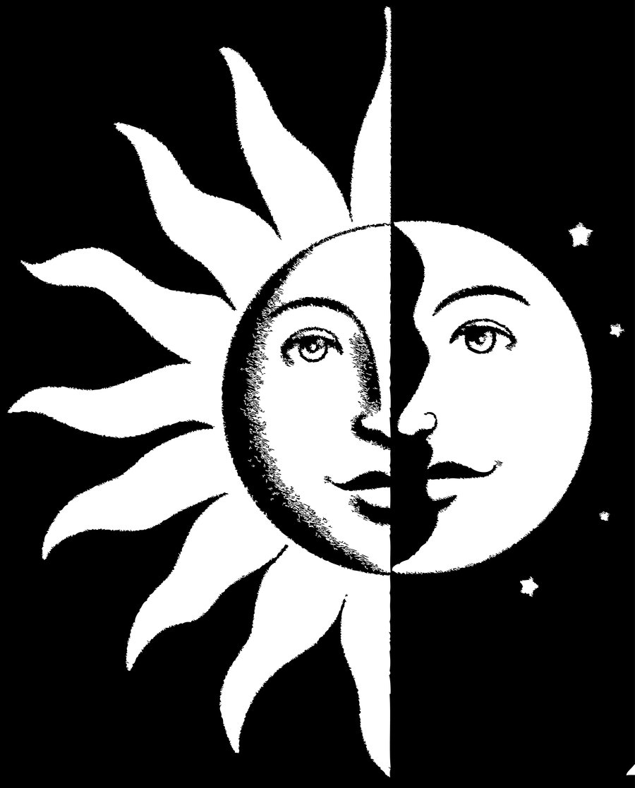 trippy sun and moon clipart 20 free Cliparts | Download ...