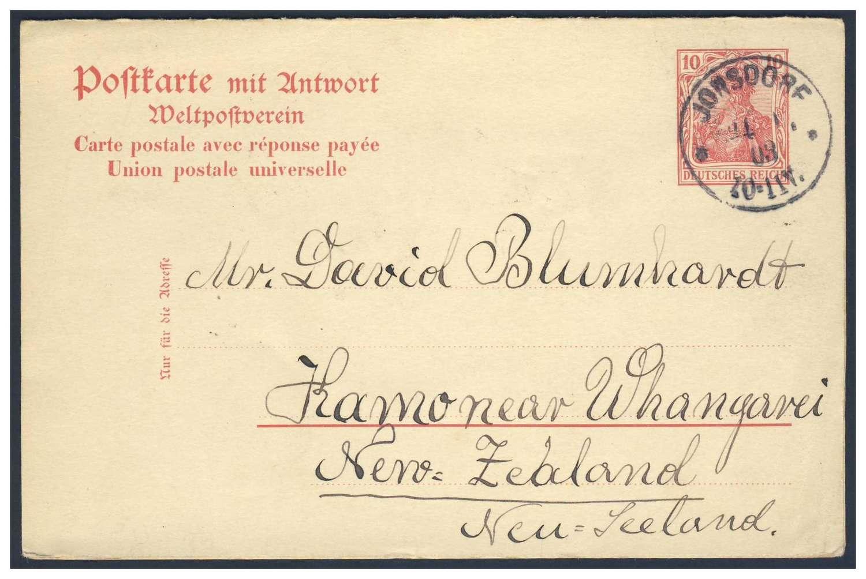 Germany, German Empire, Deutsches Reich 1902, 10 Pfg..