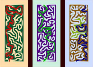 Maze Triptych.