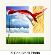 A triptych Clip Art and Stock Illustrations. 19 A triptych EPS.